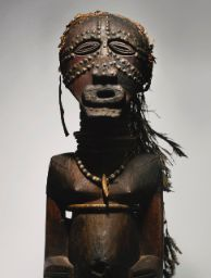 Songye Community Power Figure by the Master of the Rubinstein Songye, Democratic Republic of the Congo Height: 40 in cm) African Masks, African Art, African Museum, Tribe Of Judah, American Indian Art, Ocean Art, Tribal Art, Republic Of The Congo, Art Market