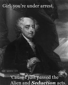 Explore the best John Adams quotes here at OpenQuotes. Quotations, aphorisms and citations by John Adams Ap Us History, History Jokes, History Teachers, American History, American Presidents, John Adams Quotes, Obscure Facts, Pick Up Lines Cheesy, Founding Fathers