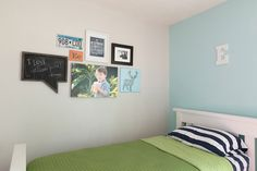 Displaying Canvas Wraps in a Child's Room