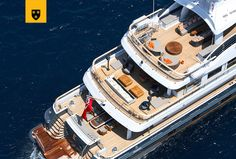 The most customized Amels Limited Editions to date, ENGELBERG has been designed to perfectly meet her Owner's needs. Advanced personal communications systems, a unique aft deck layout, and a charcoal grey hull with a hint of orange make this yacht a true original. She features a stunning interior design by Enzo Enea, who blended the Mediterranean environment into the yacht's interior décor. Engelberg, Communication System, Interior Decorating, Interior Design, Charcoal, Environment, Layout, Meet, Orange