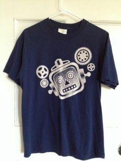 Billionaire Boys Club Shirt M Mens Size Medium BBC Tee Blue Made in USA Tshirt