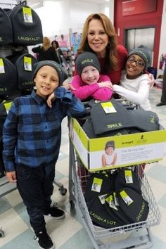 Kmart shoppers rallied together last holiday season to support the 2015 St. Jude Children's Research Hospital Thanks and Giving® campaign.  The introduction of The Giving Hat™ - a stylish winter knit hat created by Kmart to encourage giving to St. Jude – engaged shoppers in new ways and contributed to an extraordinary $16.1 million in total donations by Kmart members, associates and customers last year.