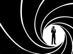 Create Graphic for Clint to project on large screen: Barrel lines = music notes, or Bond = holding violin