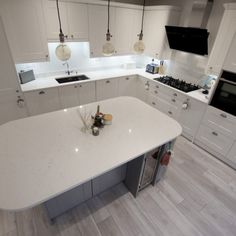 Attica White Carrera - St Albans, Herts - Rock and Co Granite Ltd St Albans, Marble Effect, White Marble, Carrera, Granite, Saints, New Homes, Flooring, House Styles