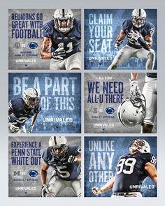Penn St. 2015-16 Football Campaign on Behance