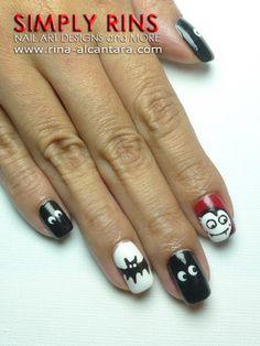 Cute Dracula Nails