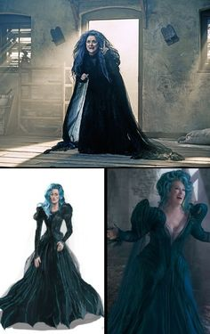 Meryl Streep as The Witch from Stephen Sondheim's 'Into The Woods' - Costume Designer: Colleen Atwood