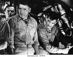 BURT LANCASTER & CLARK GABLE RUN SILENT RUN DEEP (1958) - Stock Image