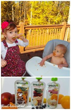 My kids love Sprout Baby Organic Foods #SproutFoods #SproutBabyFoods #AD