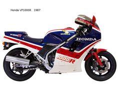 #Honda vf1000r    1987