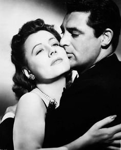 Irene Dunne and Cary Grant