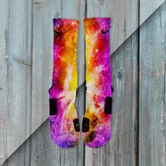 LUNAR GALAXY CUSTOMIZED NIKE ELITE SOCKS from freshelites. Saved to Things I want as gifts.
