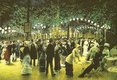 Le Bal Public by Jean Beraud 1849-1936
