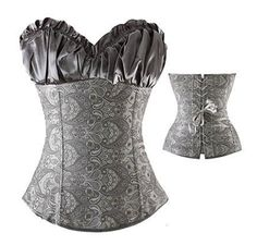d5f09a8a57 Sexy Corsets And Bustiers Lace Up Boned Overbust Waist slimming Steampunk  Corset Slimming Body Shapewear Plus Size Corselet TYQ. Empower Wear