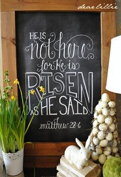Inspiring Farmhouse Easter Decor on Frugal Coupon Living. Creative Spring Fixer Upper Ideas including rustic metals, moss, bunnies, eggs and distressed woods. decorations for church Inspiring Farmhouse Easter Decor Chalkboard Designs, Chalkboard Art, Chalkboard Printable, Chalkboard Drawings, Chalkboard Border, Chalkboard Doodles, Kitchen Chalkboard, Christmas Chalkboard, Chalk It Up