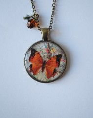 Add to cart                                                                                            Gift Ideas                                      Circular Orange Butterfly & Flower Pendant by Suzanne Woods (Arroo Accessories)                            £14.50                                                                                                                                                             Sold!