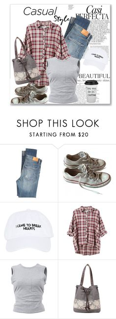 """""""Lazy Days"""" by kimzarad1 ❤ liked on Polyvore featuring Whiteley, Citizens of Humanity, Converse, Nasaseasons, The Great and T By Alexander Wang"""