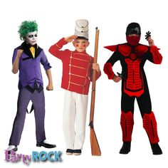 Costumes for Boys Party Rock Frisco TX Party Supplies