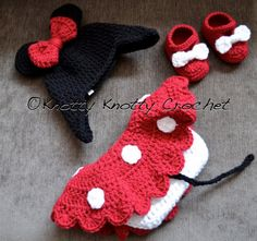minnie mouse hat, shoes and skirt