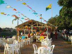 Barracas de Festa Junina na Gameleira, Rio Branco, pt:Acre, pt:Brasil.