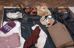 soldier's pack during the civil war (Allatoona Pass, GA)
