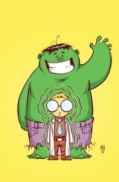 Hulk #1 Baby Variant - Skottie Young