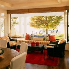 Easton House - Beach Style - Living Room - dc metro - by Patrick Sutton Associates