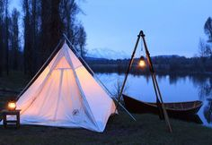 Cowboy Range Tent/Ranch Tipi - Ellis Canvas Tents   - 1
