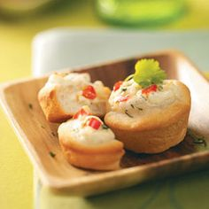 Sour Cream Cheese Puffs Recipe from tasteofhome.com