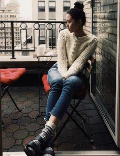 Get this look: http://lb.nu/look/8007488  More looks by Aliya Akhmedeeva: http://lb.nu/kartoshka  Items in this look:  Birkenstock Sandals   #casual #minimal #street