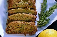 No-oil, no-sugar zucchini bread
