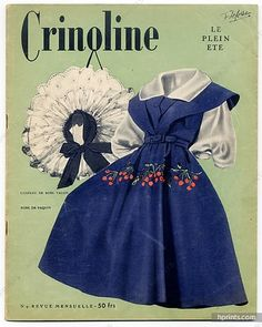 Crinoline 1947 N°9, Plein Eté, Jacques Fath