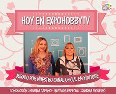 HOY en EXPOHOBBY TV nos visita Sandra Rigueiro! Aprende a modelar en goma eva y realiza estos hermosos souvenirs de peponas!! #ExpohobbyTV #Arte #Manualidades #Pepona #Modelar #GomaEva #Muñeca #Youtube #Miralo Sandra Rigueiro Marina Capano