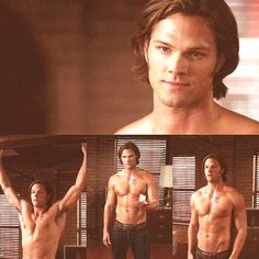 Soulless Sam. Jared did such a fantastic job playing two completely different characters. Sam/Soulless Sam couldn't be more different. #Supernatural <--Excuse me while I go get a glass of cold water. <~~ this is a post entirely about his acting. Nothin. More.