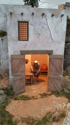 1 million+ Stunning Free Images to Use Anywhere Fontanini Nativity, Diy Nativity, Christmas Nativity Scene, Christmas Diy, Cardboard Sculpture, Paper Mache Sculpture, Mud House, Life Of Christ, Free To Use Images