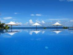 Andrew and I honeymooned here in 2000..... Matamanoa Island Resort, Fiji