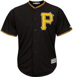 Majestic Men s Pittsburgh Pirates Replica Jersey Nfl Jerseys 7dbe8977e