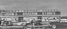 https://flic.kr/p/7mjimb | 1960s JOHN'S BARGAIN STORES vintage Long Island New York Discount Store | more images and items from my collection at my blogspot page:  www.ajaxallpurpose.blogspot.com/  ww.facebook.com/christian.montone/