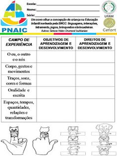 Atividades Escolares: VAMOS PLANEJAR: NOVA BNCC SEM COMPLICAÇÕES Education, Nova, Daycare Lesson Plans, Dyslexia, Preschool, Note Cards, Lets Go, Teaching, Onderwijs