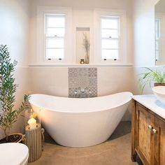 How S This For Bathroom Inspiration Using Neutral Tones And Just A Splash Of Colour Makes