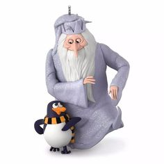 Winter Warlock - 2016 Hallmark Ornament - Santa Claus is Comin' To Town Penguin #Hallmark