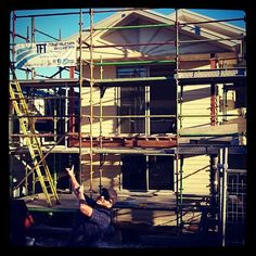 Tim is incredibly proud of his work - when you build with TFT Construction, you're Building Better. #brisbane #brisbanehomes #brisbanebuilder #designinspo #tftconstruction #tftc #tft #construction #homedesign #buildingbetter