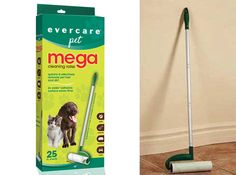 Mega Pet Roller for easy fur pickup on Sale Today w/ Free Shipping @ www.Coupaw.com