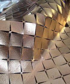 Silver Metallic Lokk