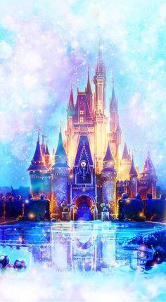 Images Disney, Disney World Pictures, Disney Princess Pictures, Disney And Dreamworks, Disney Pixar, Image Princesse Disney, Disney Kawaii, Chateau Disney, Disney Mignon