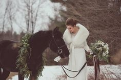 Glamour And Elegance Rustic Winter Wedding Theme