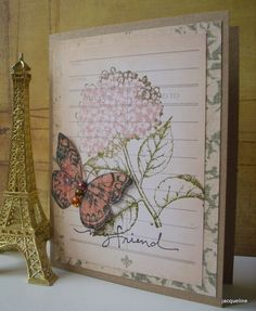 """My Friend"" Card by Jacqueline.fr, via Flickr."
