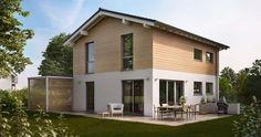 Das Satteldachhaus Cara zeigt schon von Außen seinen besonderen Charme. Innen überzeugt das Architektenhaus mit einer klaren Grundrissaufteilung auf 121 Quadratmetern Wohnfläche, vier Zimmern und zwei Vollgeschossen.