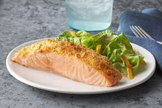 Knock their socks off with this Parmesan Baked Salmon recipe. Combine mayo, Parmesan and a RITZ Cracker coating for an irresistible dish.