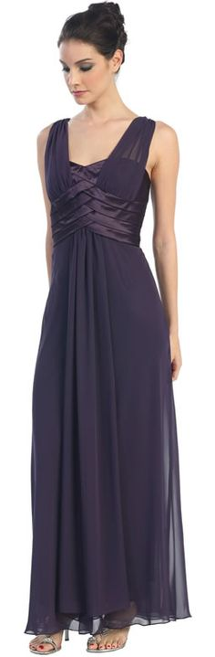 This is nice with the braiding look on the bodice...simple but pretty. It comes in black too.
